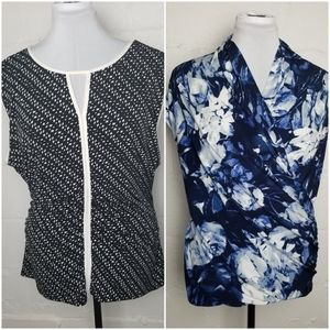 Collection of tops, tunics, and tanks, L/XL